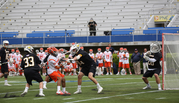 No. 2 Syracuse's top 3 offensive threats combine for 1 goal in NCAA quarterfinals loss